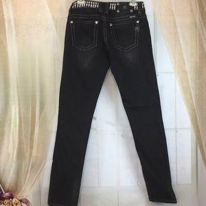 Miss Me Jeans - Miss Me Black Skinny Jeans